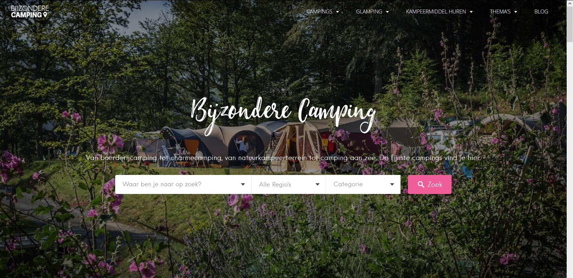 Bijzondere Camping: een interview met VAN HET PAD