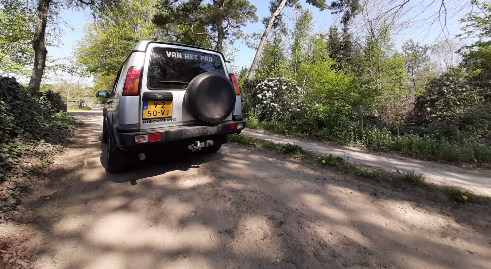 Land Rover Veluwe Tour: offroad puzzelrit