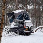 Winterkamperen met een daktent